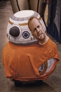 BB-8 as Korben Dallas.