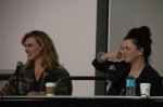 Bille Piper and Eve Myles panel.