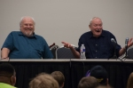 Colin Baker and Julian Glover panel.