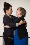 Eve Myles & Sign Interpreter