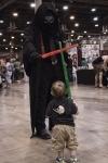 Kylo Ren vs Toddler Jedi