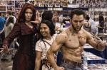 Scarlet Witch, Wolverine, & Fan