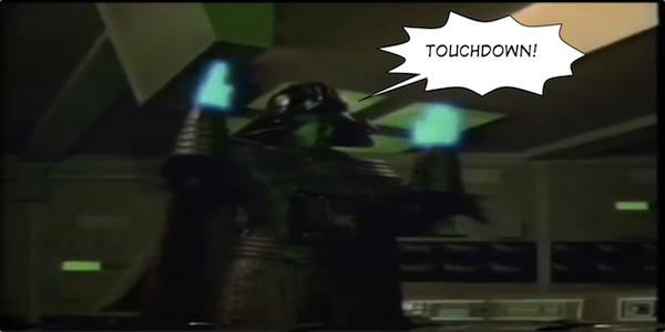 Lord Growl, Touchdown!