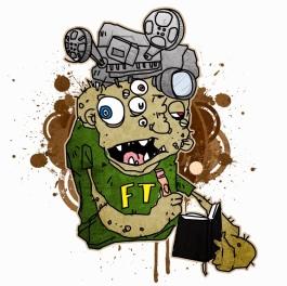 FT, Fartiste Theater's frankenthing mascot.