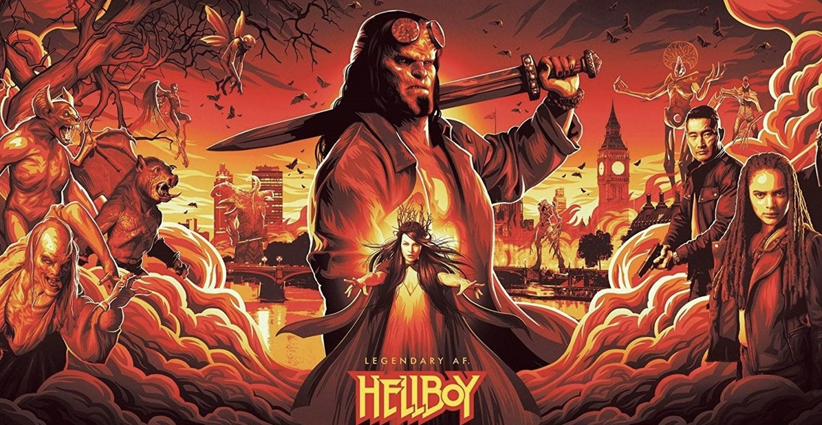 Hellboy (2019) Promotional Poster
