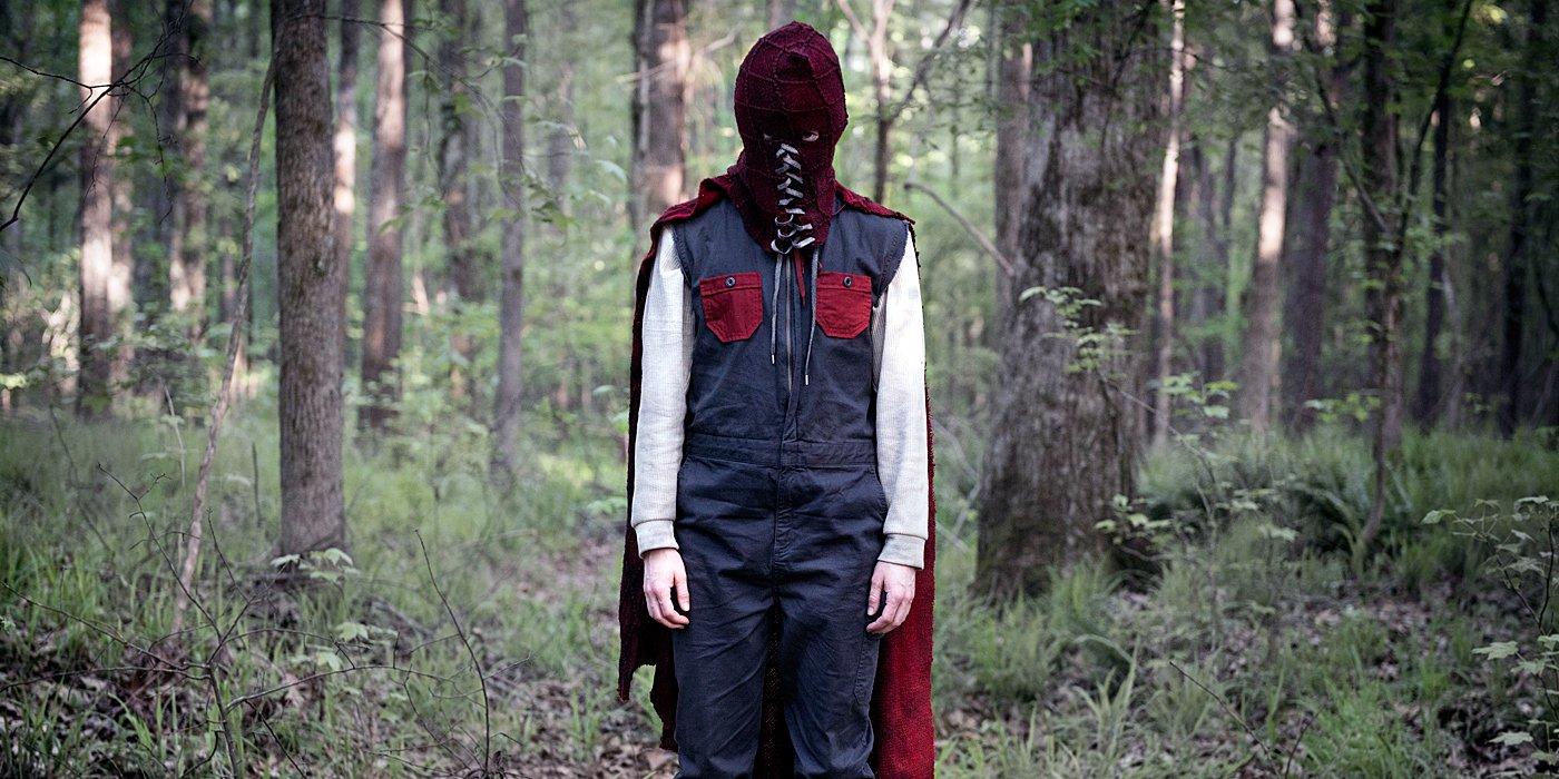 Brandon Breyer full crazy mode in the woods.