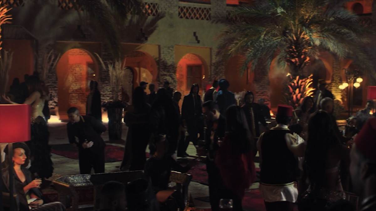 John Wick at the Continental Casablance.