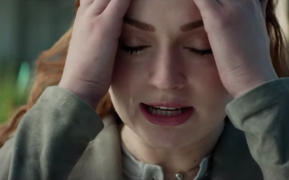 Jean Grey facepalm or headache? Or both?