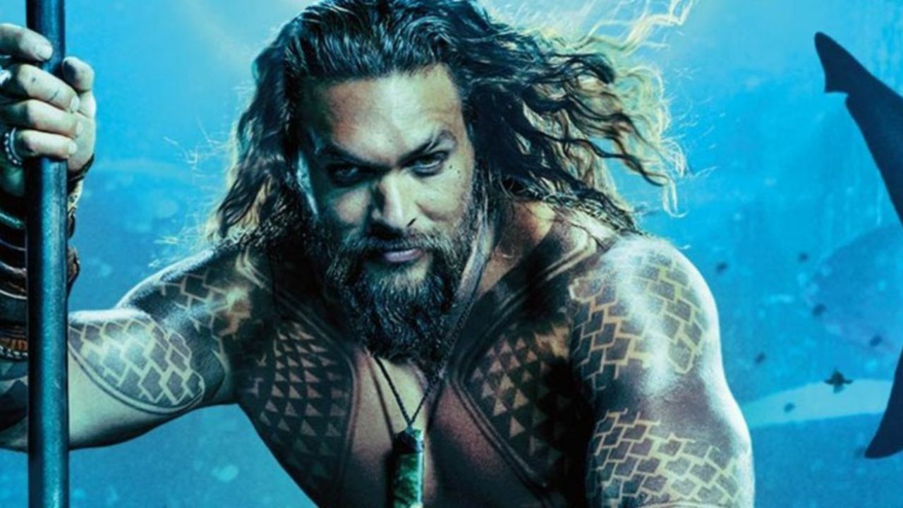 Jasaon Mamoa as Aquaman.