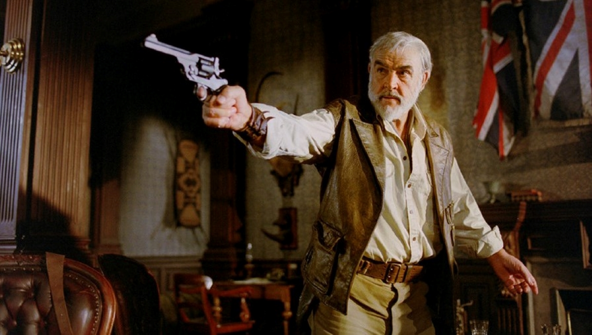 "Sean ""Allan Quatermain"" Connery"