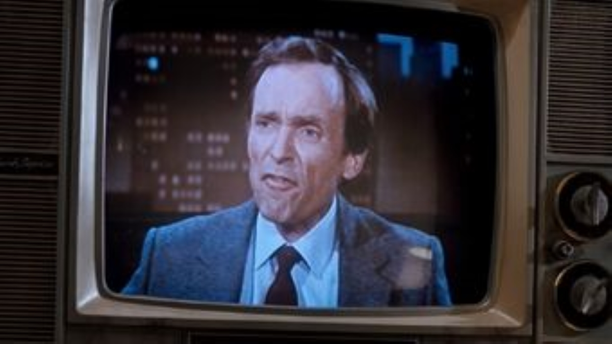 "Dick Cavett saying, ""f."""