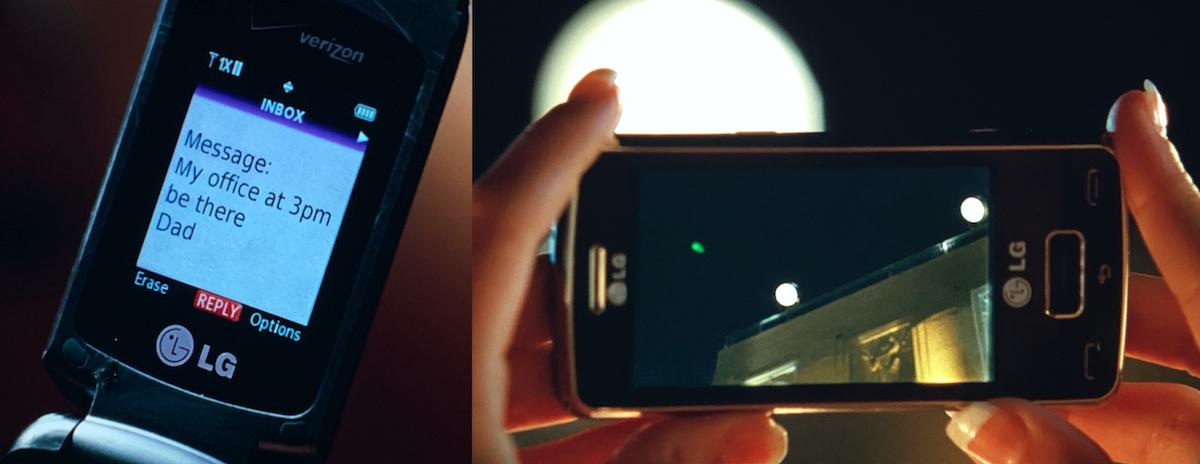LG phones in Green Lantern.
