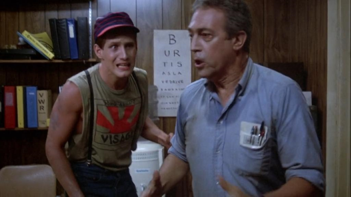 Frank and Freddy freaking out about exposure to 245-Trioxin.