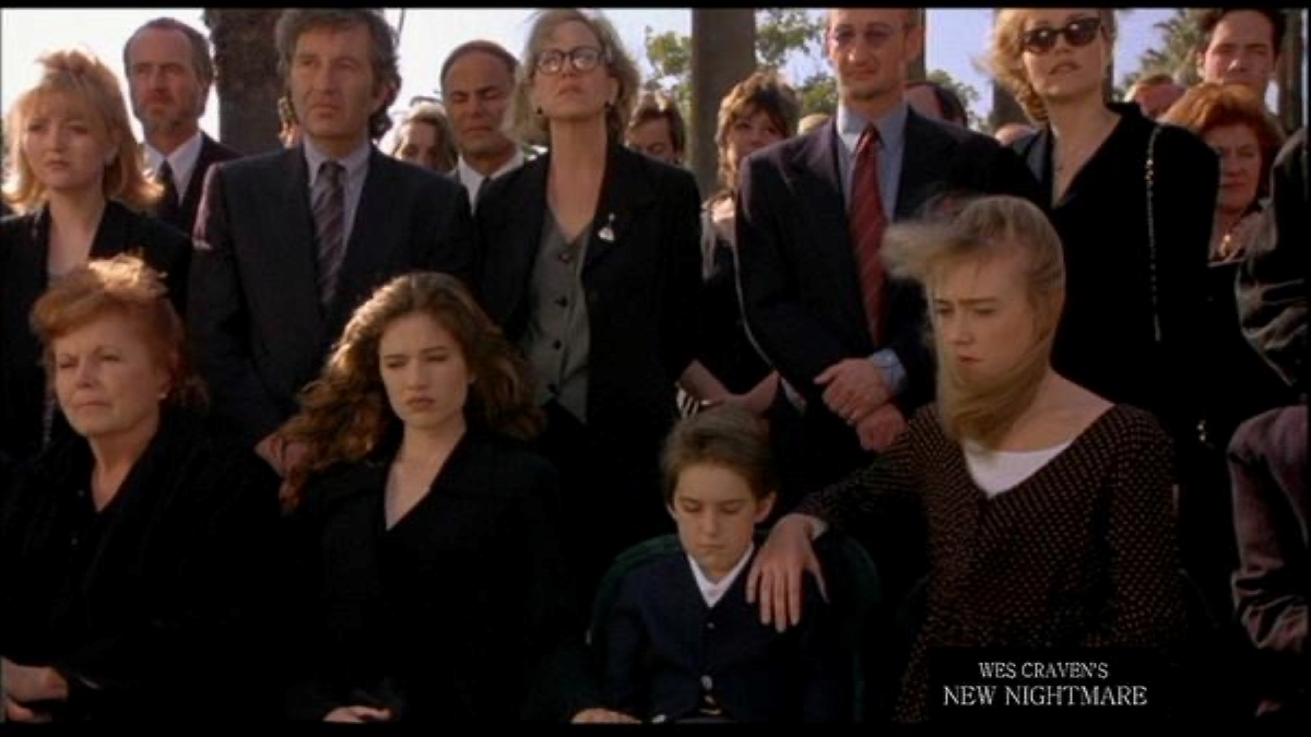 Chase's funeral.