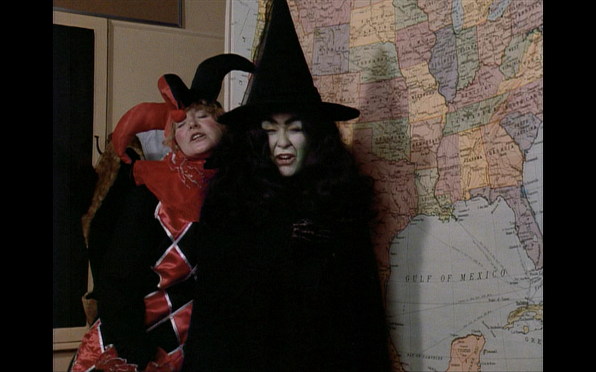 Harley Quinn and the Wicked Witch of the West taunt Ralphie.