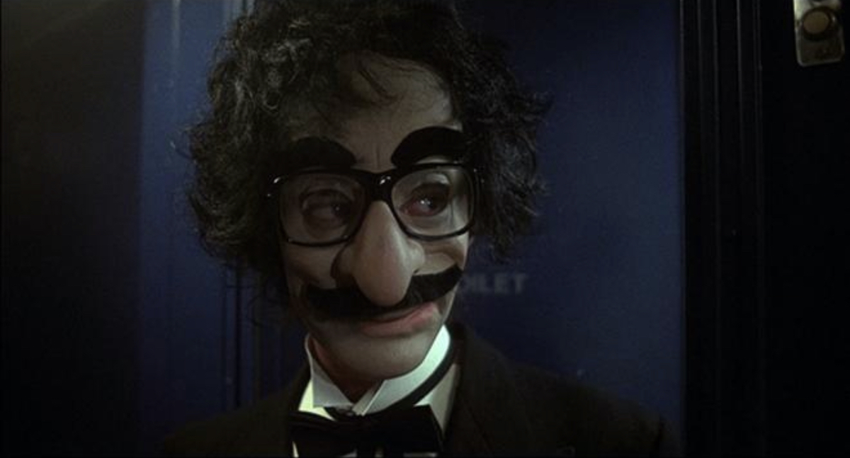 Kenny Hampson as Groucho Marx as Chief Inspector Jacques Clouseau.