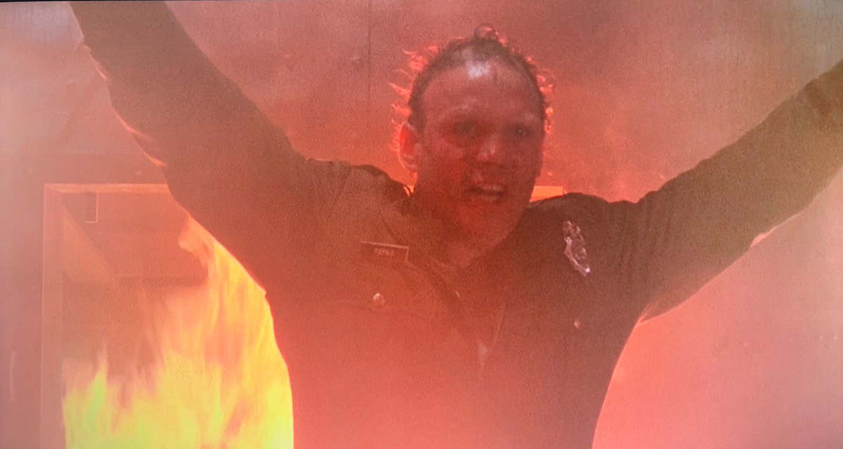 Sandman welcoming Burke to hell.