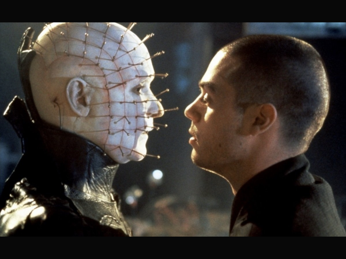 Pinhead and Phillip face off.